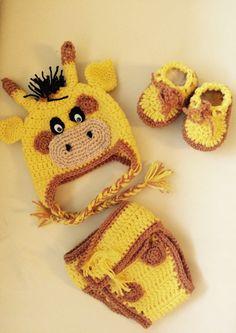 Baby set giraffe  von MyGoodShop auf DaWanda.com