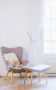 Liefde voor dromerig witte gordijnen