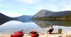 Kayak lake Wenatchee