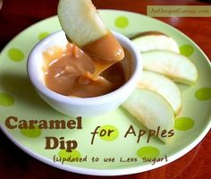 Homemade Caramel Dip for Apples – Very easy recipe. Honey made the carmel very smooth and perfect for Granny Smith apples! 3/4 stars