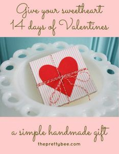 DIY Valentines Day Cards - 14 Days Of Valentine Card - Easy Handmade Cards for Him and Her, Kids, Freinds and Teens - Funny, Romantic, Printable Ideas for Making A Unique Homemade Valentine Card - Step by Step Tutorials and Instructions for Making Cute Valentine's Day Gifts http://diyjoy.com/diy-valentines-day-cards