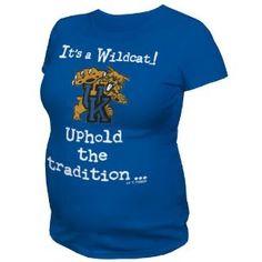It's A Wildcat! – University of Kentucky Maternity Shirt