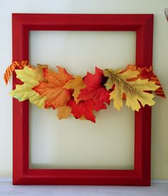 Southern Scraps : Fast and easy fall craft