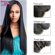 Top 7a 4x4 Front Lace Closure Bleached Knots Cheap Three/Middle/Free/3Part Straight Closures Malaysain Virgin Human Hair Closure