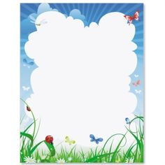Summer Breeze Letter Paper