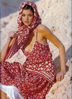 Janice Dickinson for Vogue Paris, 1977, by Mike Reinhardt
