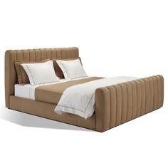 Brook Street Channeled Bed - Beds - Furniture - Products - Ralph Lauren Home - RalphLaurenHome.com