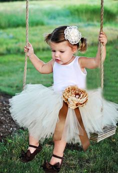 Juliet Tutu in Autumn-- The shoes and flower... adorable!! - dear lillie