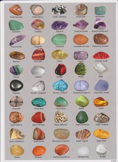 Beautiful and powerful gemstones Minerals And Gemstones, Crystals Minerals, Rocks And Minerals, Crystal Healing Stones, Stones And Crystals, Crystal Identification, Rocks And Gems, Book Of Shadows, Hippie Style