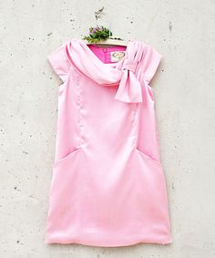 Look at this Pink Lana Dress - Toddler & Girls on #zulily today!