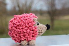 Easy Crochet Hedgehog Pattern via Etsy