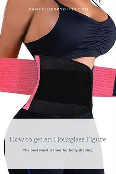 eca777bf01a Help get the body of your dreams with our wrap waist shaper trainer!  Traditional waist