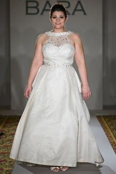 plus size wedding gowns - Plus Size Lace Jacket Wedding Dress for ...