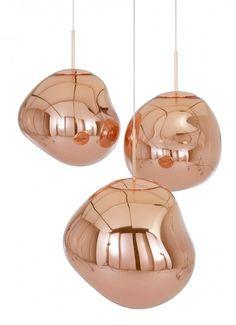 Melt hanglamp koper   Tom Dixon