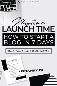 Ready to start a blog, but not sure where to start? Join this free challenge to launch your blog in just 7 days broken down in simple, actionable steps so you can get it done during naptime this week! Get the lessons sent directly to your inbox. #startablog #diyblog #blogger How To Start A Blog, How To Get, Free Email, Entrepreneur Inspiration, Free Blog, Pinterest Marketing, Getting Things Done, Join, Challenge