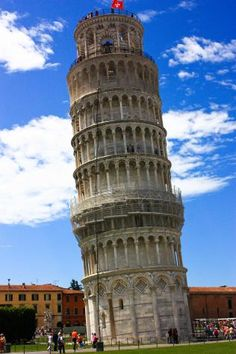 Florance Italy - The Leaning Tower of Peza