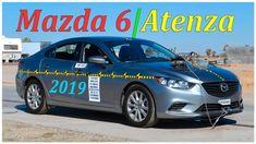 Задний краш тест Mazda 6 2019