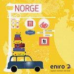 Upptäck våra grannländer i sommar. Eniros superapp funkar även för lokalt sök i Norge och Danmark.