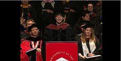 Neil Gaiman Addresses the University of the Arts Class of 2012 on Vimeo