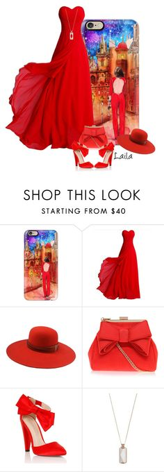 """""""Iphone Case and Red Dress"""" by lailagasholt ❤ liked on Polyvore featuring Casetify, The Season Hats, Miss KG, Lipsy, Vinaya, contest, outfit, red and iphonecase"""