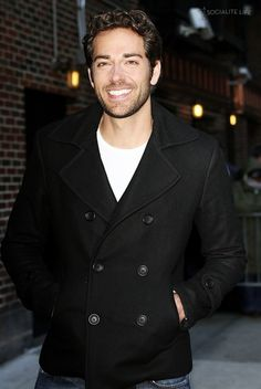 Zachary Levi- the fact that he is a Christian makes him that much more attractive.