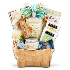 """@Overstock.com - Alder Creek Gift Baskets Vanilla Orchids Spring Gift Basket - Send someone special your love with this luxury spring gift basket from Alder Creek. Perfect as a way to say """"thank you"""" or celebrate someone's birthday, the basket contains items that will let recipients pamper, relax, and indulge themselves.  http://www.overstock.com/Gifts-Flowers/Alder-Creek-Gift-Baskets-Vanilla-Orchids-Spring-Gift-Basket/7785774/product.html?CID=214117 $39.99"""