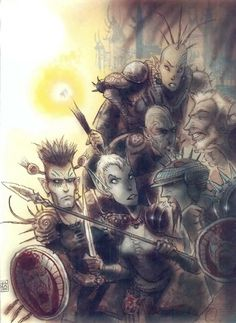 Art by Tony DiTerlizzi