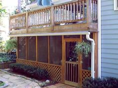 under deck screen porch | Little Boy Peeing - another new addition - now located in the center ...