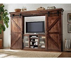 """Mason Wall with 63"""" Console 