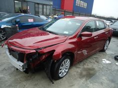 Salvage 2013 NISSAN ALTIMA for sale  THIS IS A SALVAGE REPAIRABLE VEHICLE WITH FRONT END COLLISION. THIS VEHICLE IS A RUNS AND DRIVE UNIT WITH ALL ARE BAGS INTACT. DAMAGE , For more information and immediate assistance, please call +1-718-991-8888