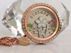 Origami Owl Living Lockets, Make perfect gifts for any occasion! #sisters See more at www.facebook.com/origamiowldollinevance #origamiowl #sorority