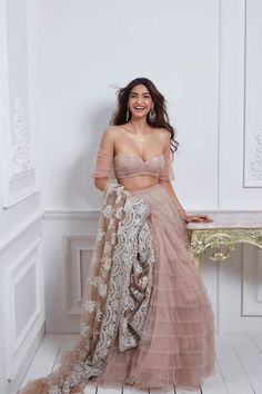 Unique Bridal Lehenga designs that is every Bride's pick in Lehenga Designs, Indian Bollywood, Bollywood Fashion, Bollywood Saree, Indian Attire, Indian Wear, Indian Dresses, Indian Outfits, Indian Wedding Outfits