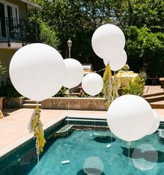 You are prepared to get started filtering your pool! Having a pool in the house can be rather dangerous if you've got small children in your loved ones. If you own a pool in your residence, a pool party is… Continue Reading → Backyard Wedding Pool, Cozy Backyard, Romantic Backyard, Backyard Ideas, Backyard Engagement Parties, Backyard Bridal Showers, Backyard Parties, Ponds Backyard, Diy Engagement Party