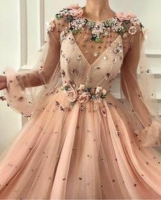 Rosy Dame TMD Gown Rosy Dame TMD Gown Yuna yoi All Details Baby rosa Kleid Farbe T llkleid Stoff Handgemachte Stickereien nbsp hellip Formal Dresses For Women, Elegant Dresses, Pretty Dresses, Beautiful Dresses, Casual Dresses, Ball Dresses, Ball Gowns, Evening Dresses, Prom Dresses
