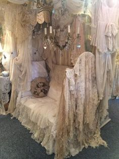 Photos of Sheelin Antique Lace and Vintage Fashion, Enniskillen - Attraction Images - TripAdvisor Decoration Shabby, Shabby Chic Decor, Boho Decor, Shabby Vintage, Vintage Lace, Vibeke Design, Estilo Shabby Chic, Fru Fru, Linens And Lace