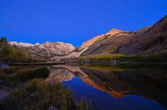 1 of (2) The Edge of Dawn, North Lake, Eastern Sierra's California