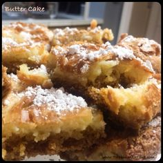 Butter Cake Recipe - easy and delicious