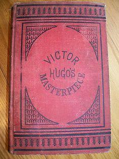 Antique 1887 Les Miserables Victor Hugo Rare Complete Edition Carleton