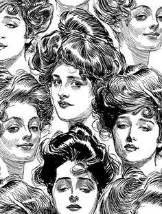 Gibson Girls Background