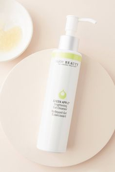 Juice Beauty Green Apple Brightening Gel Cleanser by in White Size: All, Makeup at Anthropologie - Products - Cleanser, Moisturizer, Black Tea Leaves, Lush Products, Makeup Products, Beauty Products, Juice Beauty, Lemon Balm, Homemade Facials