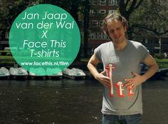 Jan-Jaap van der Wal in Face This tee