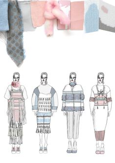 New Fashion Sketchbook Ideas Layout Design Portfolios 37 Ideas Fashion Illustration Sketches, Fashion Sketchbook, Medical Illustration, Fashion Design Portfolio, Fashion Design Sketches, Fashion Collage, Fashion Art, Trendy Fashion, Sketchbook Layout