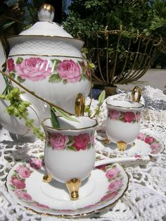 Lynne's Gifts From the Heart: ~ Enjoying Tea on the Patio ~