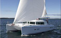 Santorini Sailing Catamaran S/Y Caldera Lagoon 420