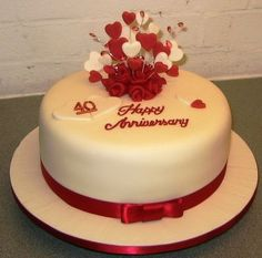 Anniversario di matrimonio: le torte più belle