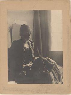 Portret van Lizzy Ansingh, in Breitners atelier aan de Lauriergracht, Amsterdam, George Hendrik Breitner, 1894 - 1895