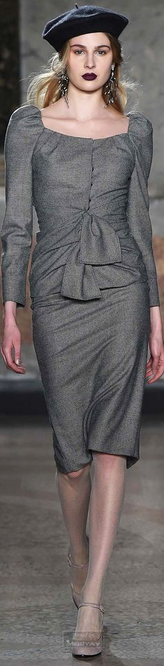 Luisa Beccaria.Fall 2015.-I have not worn a skirt in years.But, this I would have to wear!
