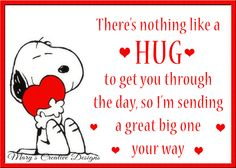Hug Quotes, Happy Quotes, Love Quotes, Funny Quotes, Inspirational Quotes, Positive Quotes, Snoopy Images, Snoopy Pictures, Peanuts Quotes