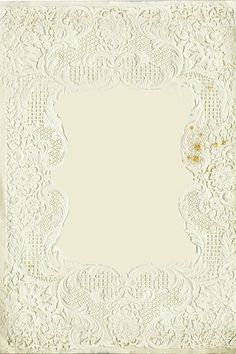 Victorian Paper Lace Background - Frame