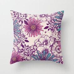 Beauty within Throw Pillow by from Society6